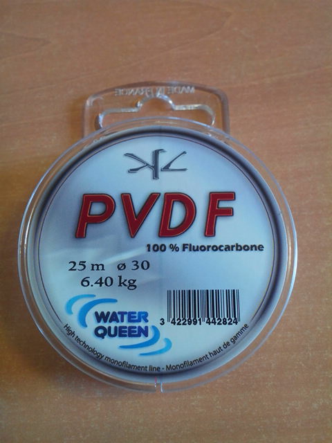 Flurocarbone 100% - PVDF - 30/100° - Bobine de 25m - Made in France